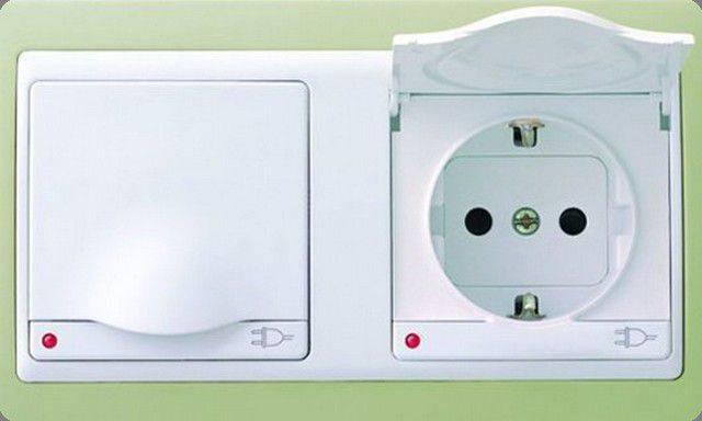 Высота установки розеток и выключателей, размещение по евростандарту