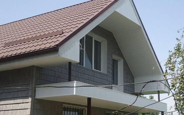 Монтаж и выбор материалов для подшивки свеса крыши