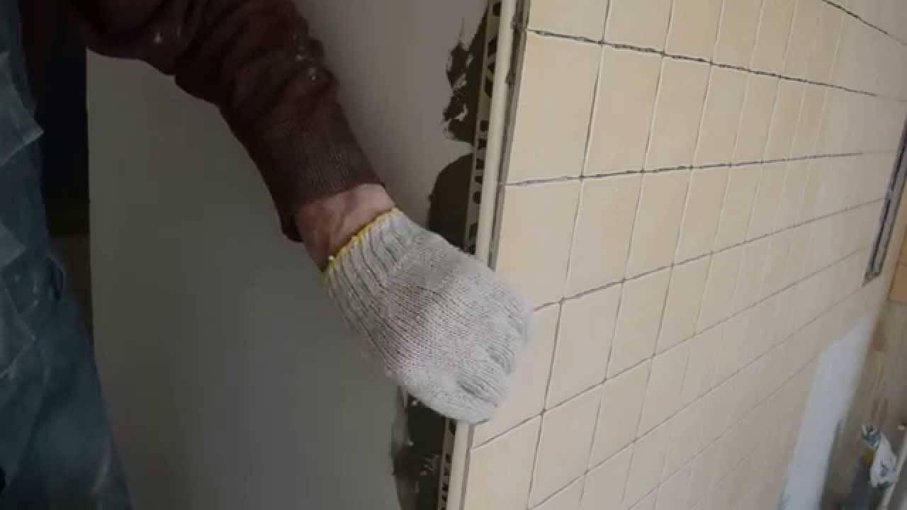 Виды уголков для плитки в ванной их классификация и монтаж