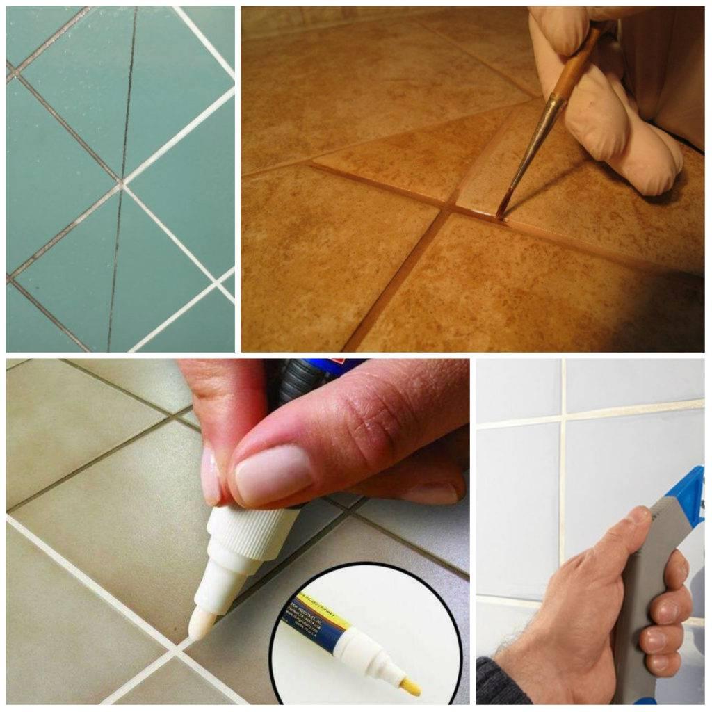Как затирать швы на плитке на полу своими руками: как затереть швы на плитке на полу затиркой