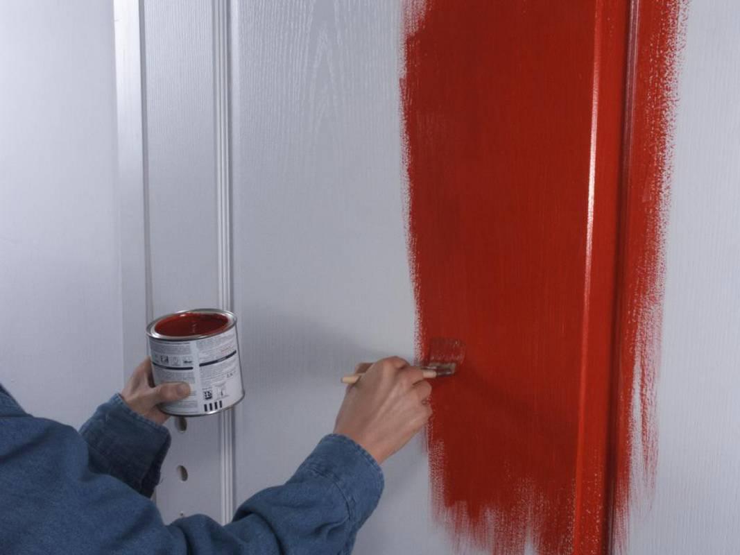 Как отделать дверной проём входной двери, оформление откосов