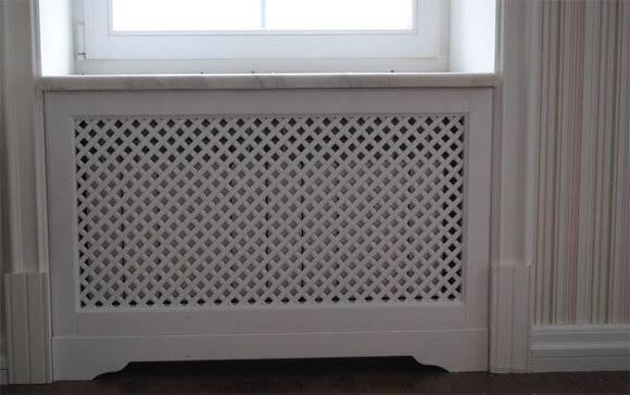 Экран на батарею отопления: защитный и декоративный элемент