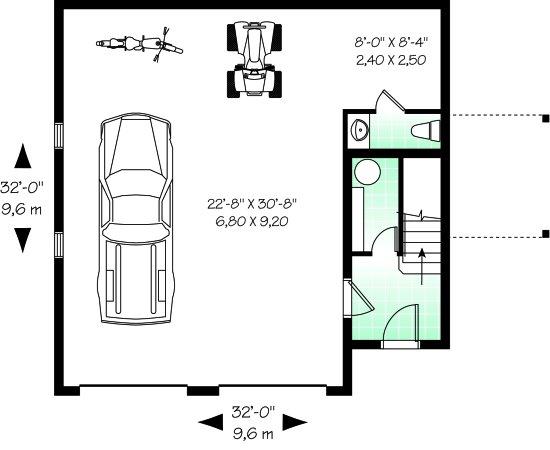 Оптимальные размеры гаража на 1 машину: как рассчитать минимальную ширину на один автомобиль в частном доме, измеряем габариты, какой должна быть площадь постройки