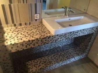 Раковины под столешницу в ванной - все о канализации