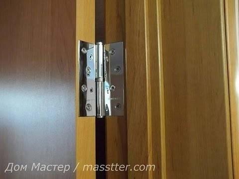 Ввертные петли для дверей: как установить дверные петли в парную? правила их регулировки