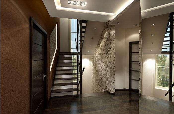 Дизайн элегантной прихожей в маленьком и большом частном доме. самые модные и доступные интерьеры + 180 фото