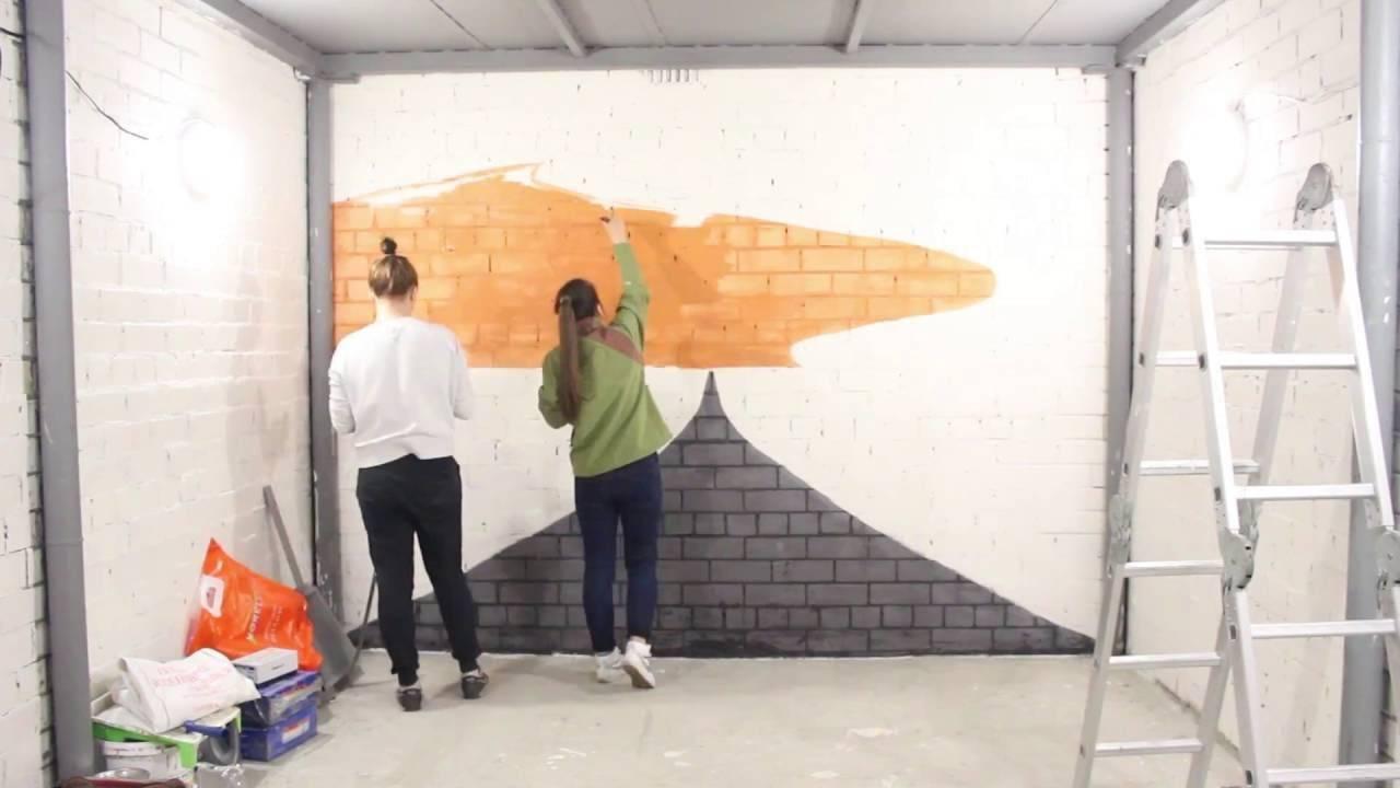 Выбираем чем покрасить стены в гараже и как подобрать цвет: фото-материалы