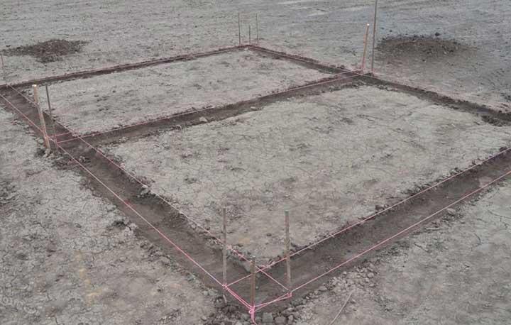 Фундамент для каркасного дома своими руками: строительство, расчет