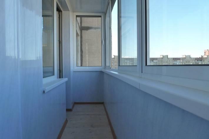 Отделка балкона внутри - какие материалы выбрать