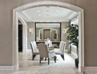 Что можно сделать вместо двери на кухню: варианты оформления проема