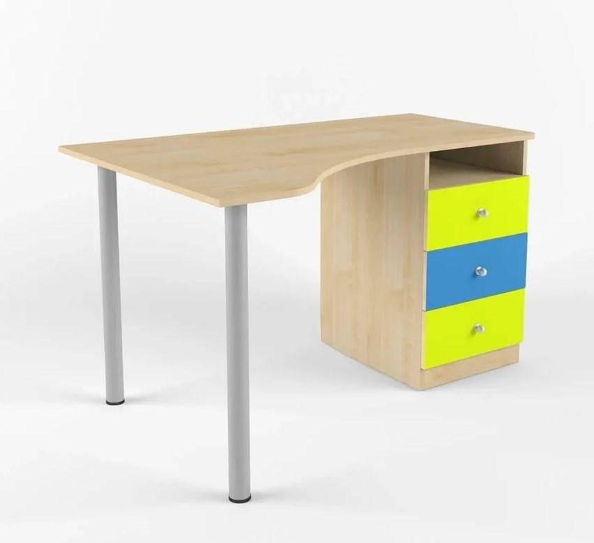 Обзор популярных моделей письменного стола для двоих детей: виды по материалу, форме, комплектации, внешнему виду