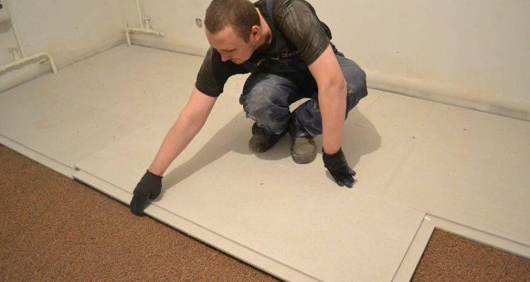 Звукоизоляция пола в квартире под стяжку: материалы и подложка для шумоизоляции,  варианты напольных покрытий с шумоизоляцией