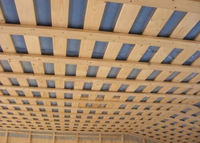 Можно ли подшивать потолок осб плитой | хитрости жизни