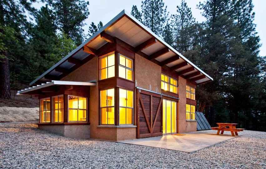 Дом-шалаш (а-образный дом): проекты, размеры, обустройство планировки, достоинства и недостатки   (75+ фото & видео)+отзывы