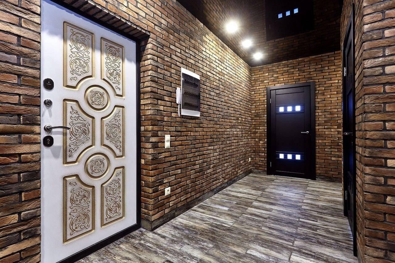 Отделка стен в прихожей: методы и материалы для отделки