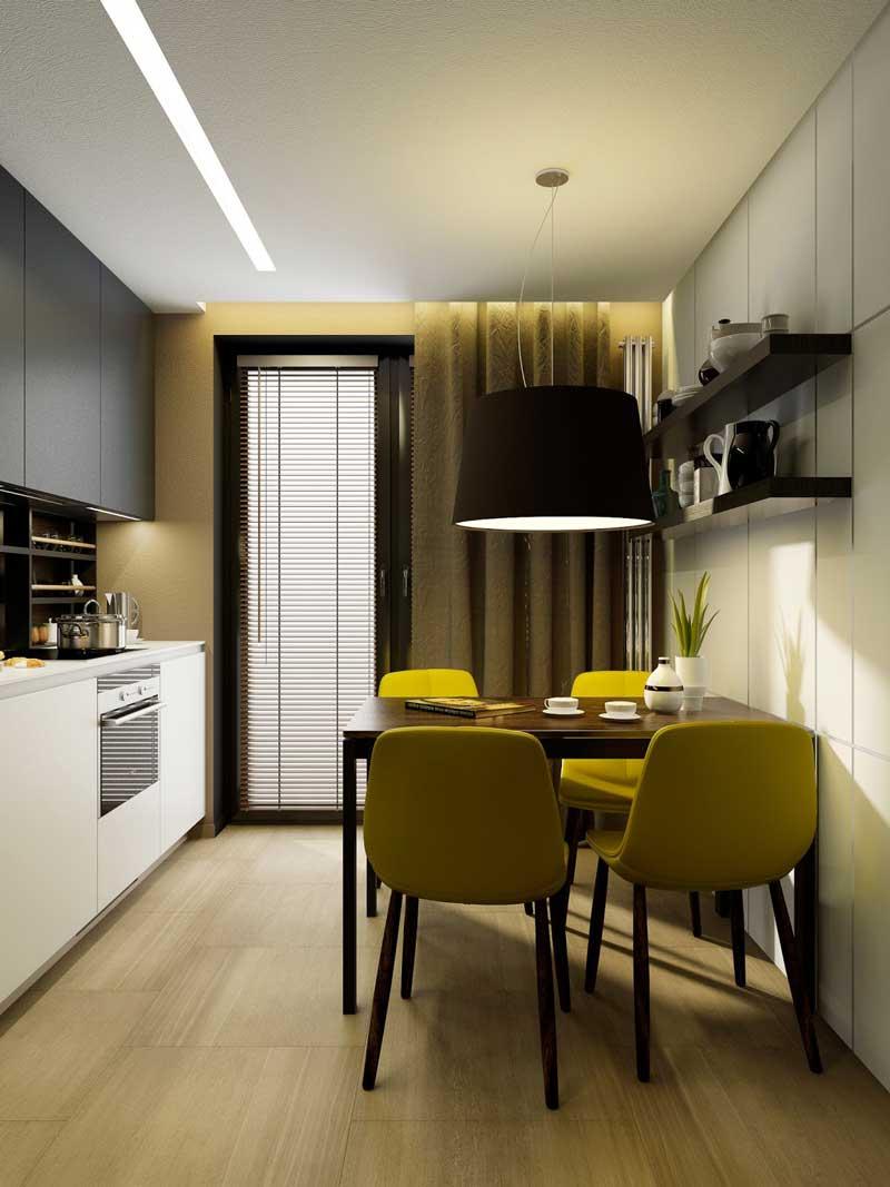 Покраска стен на кухне: пошаговая инструкция, дизайн, своими руками, чем красить, полезный рекомендации, фото.