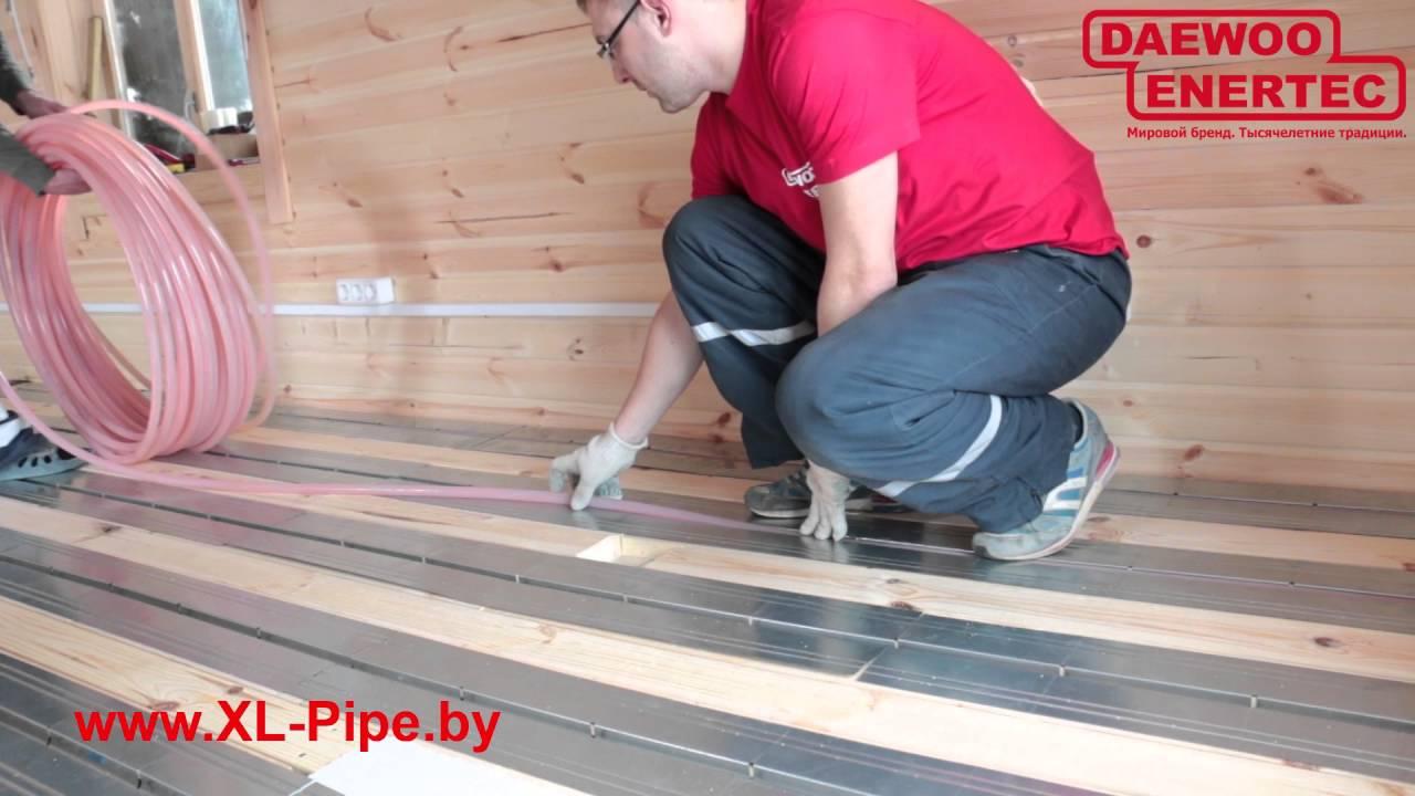 Теплый пол под ламинат на деревянный пол: делаем самостоятельно с пошаговой схемой инфракрасный теплый пол под ламинат