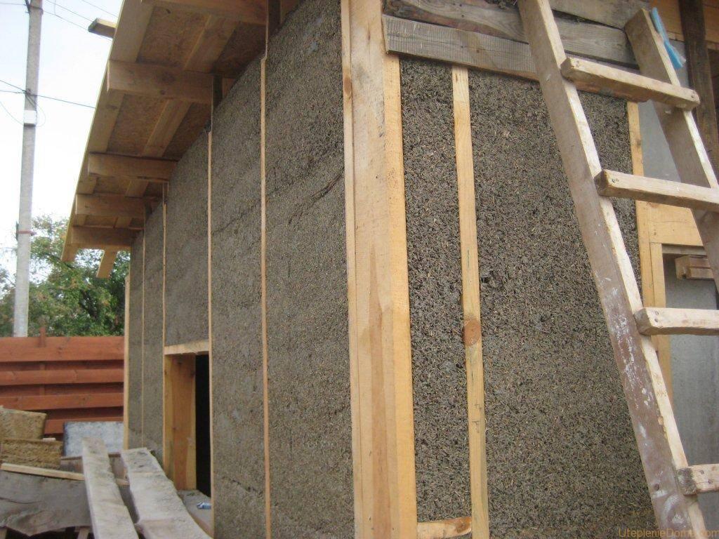 Как правильно утеплить наружные стены деревянного дома