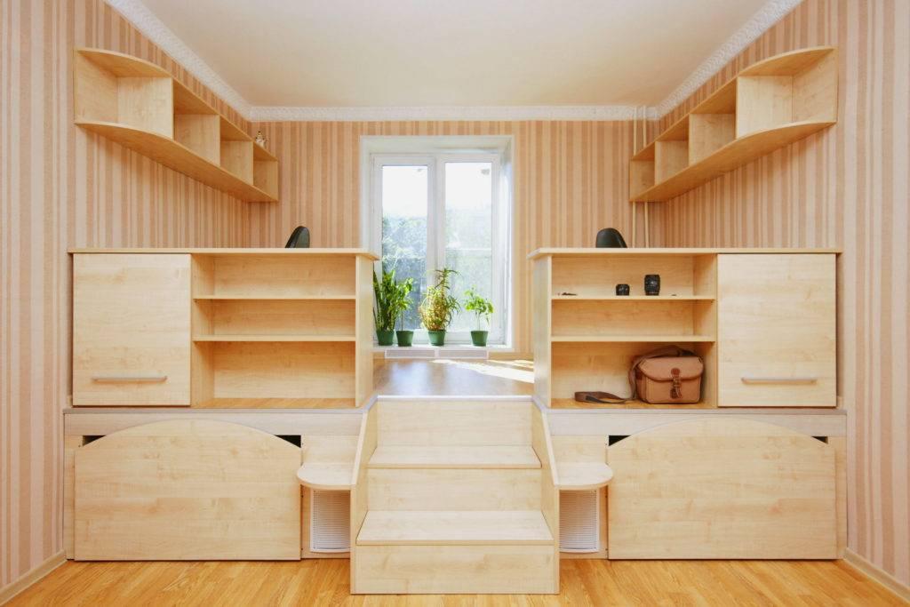 Кровать подиум с ящиками своими руками - пошаговая инструкция