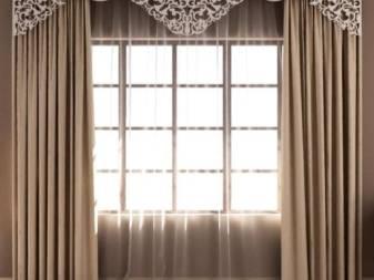 Правильная длина штор, как рассчитать точные размеры оконного декора - 25 фото