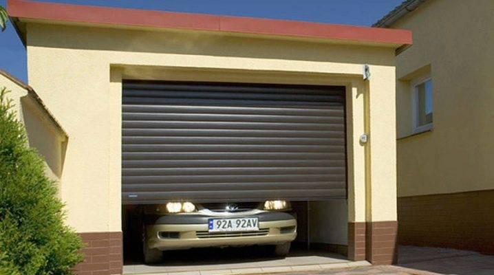 Как установить ворота рольставни на гараж своими руками - инструкция