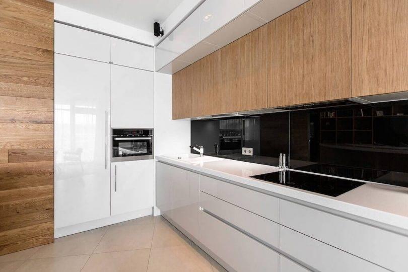 Белая кухня – 7 идей дизайна, 70 фото и практические советы