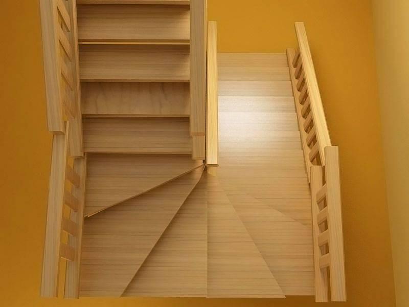 3d расчет винтовой лестницы