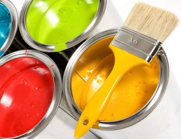 Краска и эмаль: в чем отличие разное