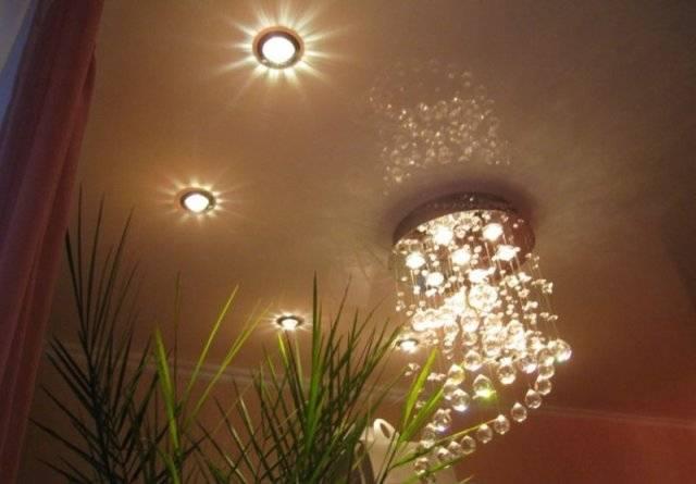 Особенности потолочных софитов для натяжных потолков