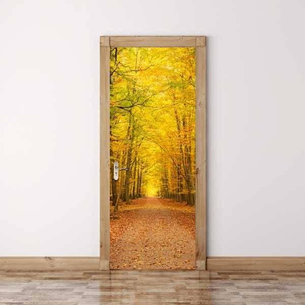 Отделка дверей своими руками - современные идеи оформления (115 фото)