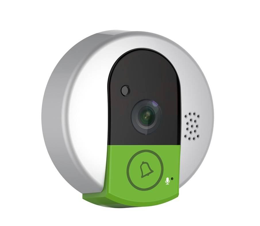 Видеоглазок для входной двери с wifi, ip, датчиком движения и функцией записи в квартиру