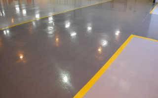 Краска полиуретановая для бетона: особенности работы с материалом