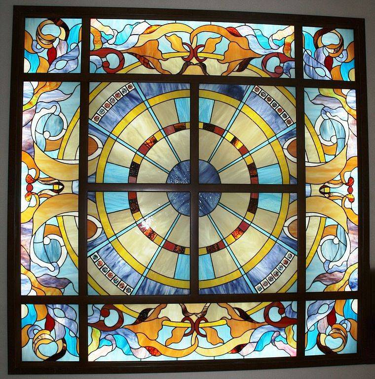 Витражная пленка декоративная для окон, пленка на стекло самоклеющаяся с рисунком, оконные витражи