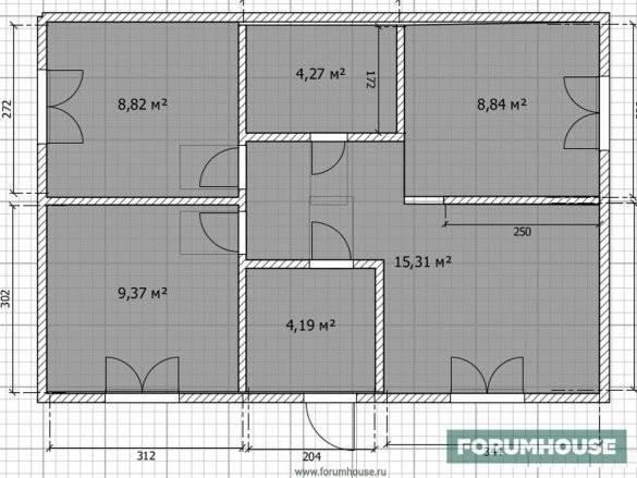 Каркасный дом 6х6 своими руками — пошаговая инструкция