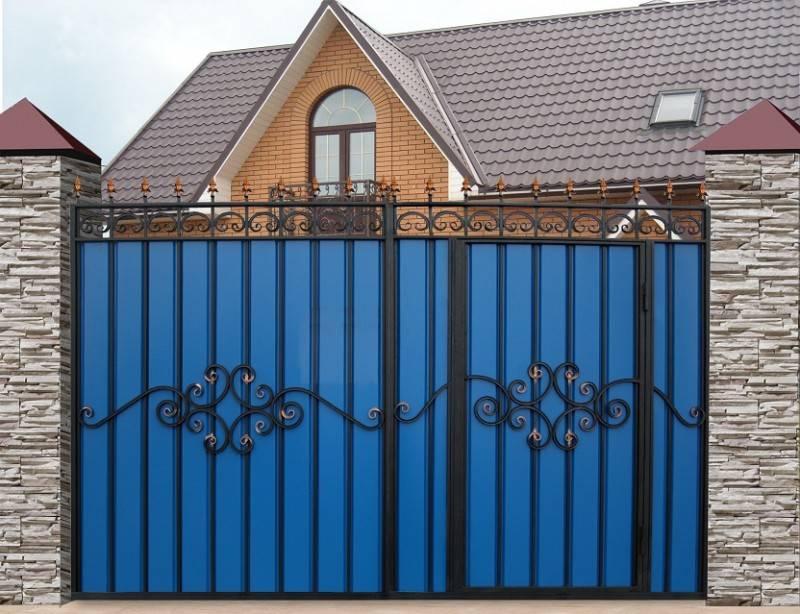 Гаражные ворота своими руками - 125 фото идей изготовления и установки различных типов ворот