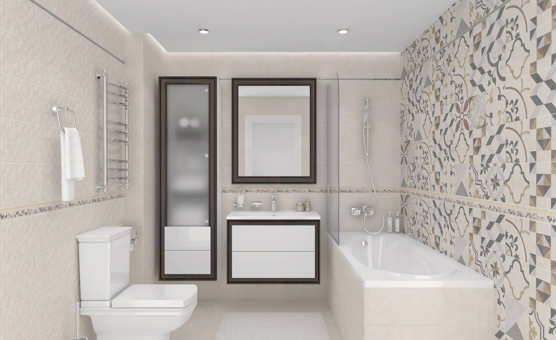 Плитка под бетон: керамическая настенная плитка в интерьере, дизайн и текстура