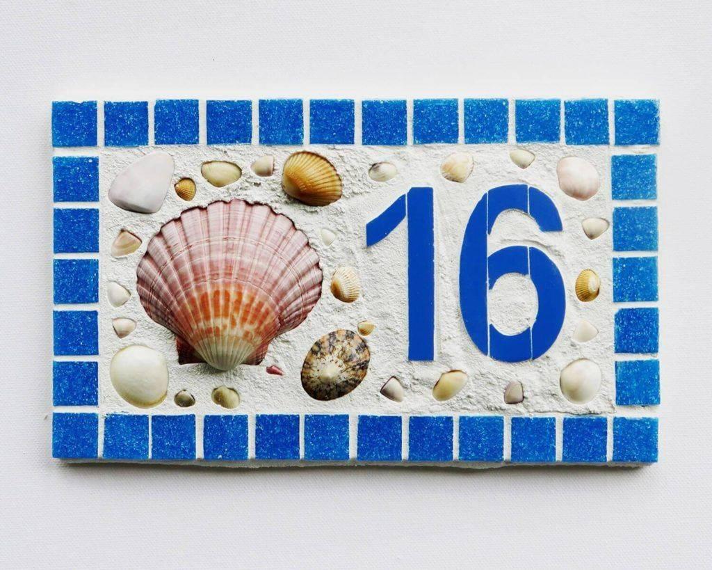 Табличка с номером дома: потрясающие идеи своими руками - самстрой - строительство, дизайн, архитектура.
