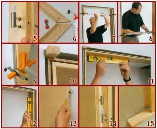 Инструкция по врезке петель в межкомнатные двери своими руками