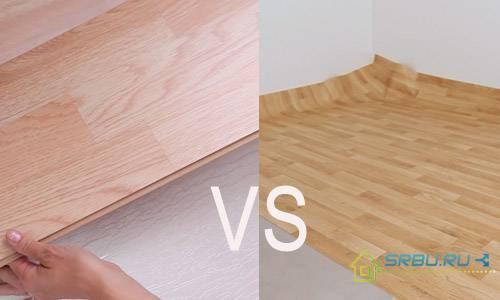 Как правильно постелить линолеум на деревянный, бетонный пол, на фанеру своими руками в квартире, в комнате +видео укладки