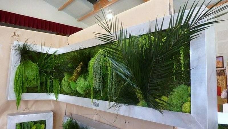 Декоративный мох в интерьере квартиры или дома: оформляем и украшаем