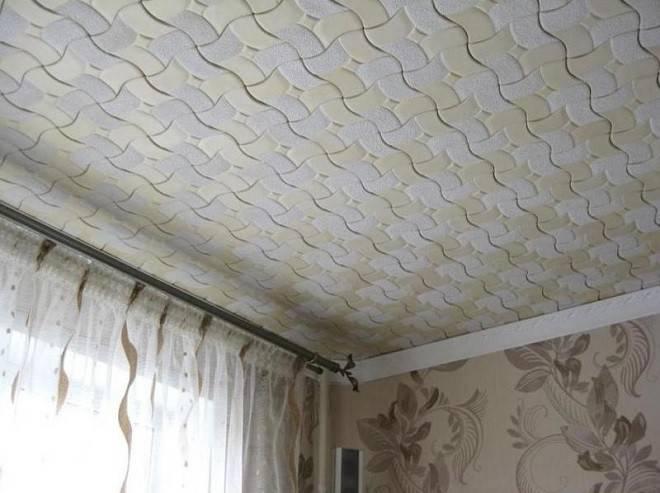 Потолочная плитка из пенопласта (53 фото): чем можно покрасить пенопластовое покрытие для потолка, размеры изделий