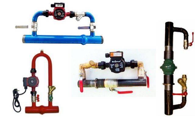 Что такое байпас  в системе отопления: установка, принцип работы, схема. байпас для циркуляционного насоса и полотенцесушителя