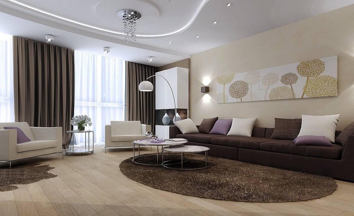 Дизайн гостиной-спальни: особенности планировки и фото готовых решений