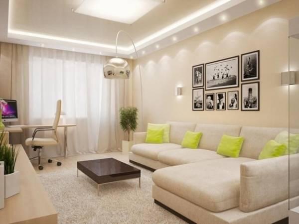 Диваны в гостиную (100 фото) - модные новинки, примеры интерьеров