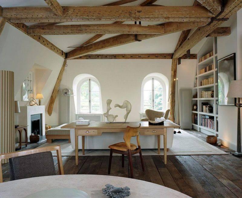 Фальш балка – имитация балок из дерева, как сделать декоративные балки на потолке
