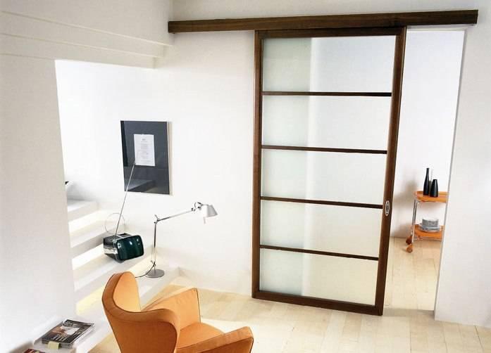 Перегородки для зонирования пространства в комнате: декоративные раздвижные, деревянные и стеклянные, шкаф и ширма, фото