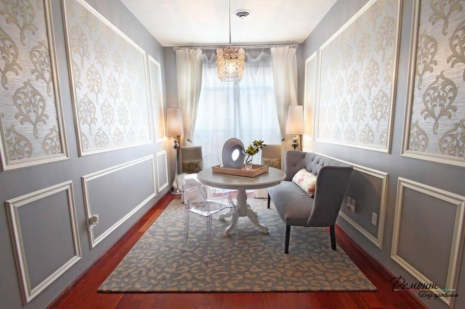 Обои в интерьере (гостиная, кухня, спальня): идеи + 190 фото
