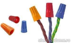 Способы соединения электрических проводов между собой