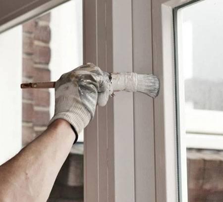 Как покрасить пластиковые окна в коричневый цвет - клуб мастеров