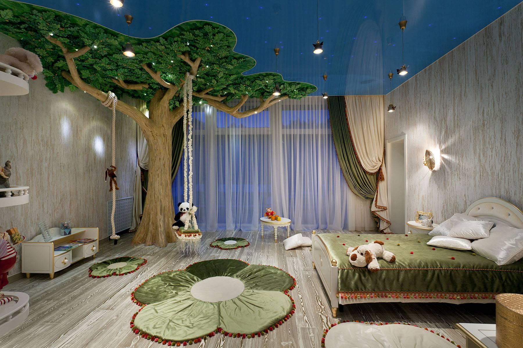 Подвесные потолки в детской комнате